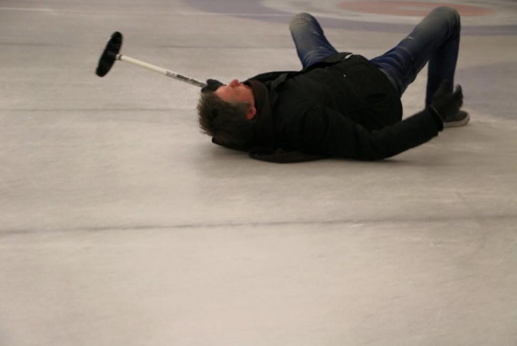 w curling gralem bo fajnie jest