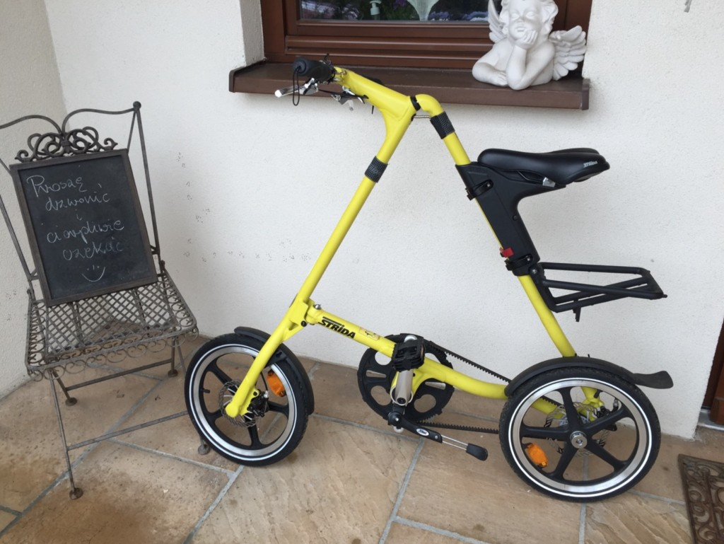 rower strida bo fajnie jest